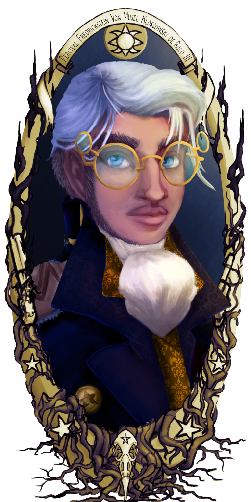 An illustration of Percy from Critical Role s1.